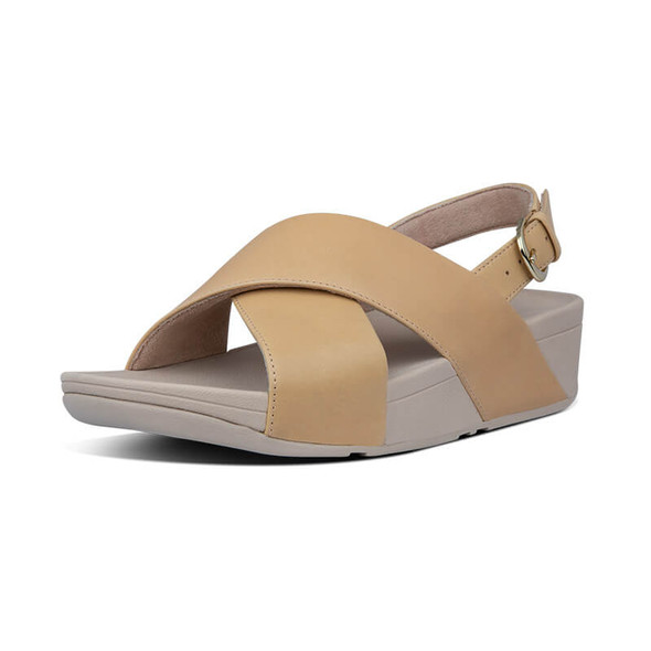 FitFlop Lulu Leather Sandals Blush
