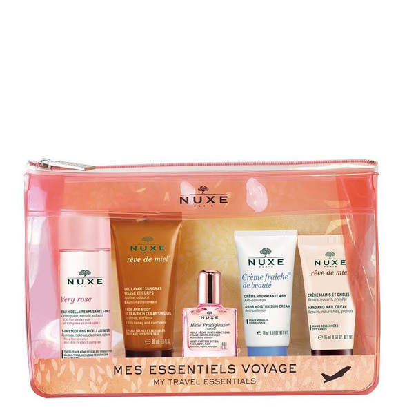 NUXE Discovery Pouch & Travel Kit