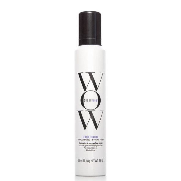 Color Wow Brass Color Control Styling Foam Blonde 200ml
