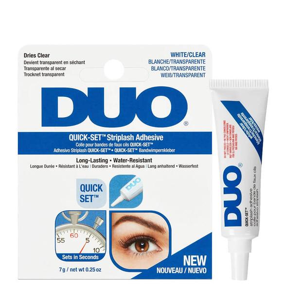 Duo Quick Set Striplash Adhesive Clear 7g