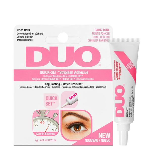 Duo Quick Set Striplash Adhesive Dark 7g