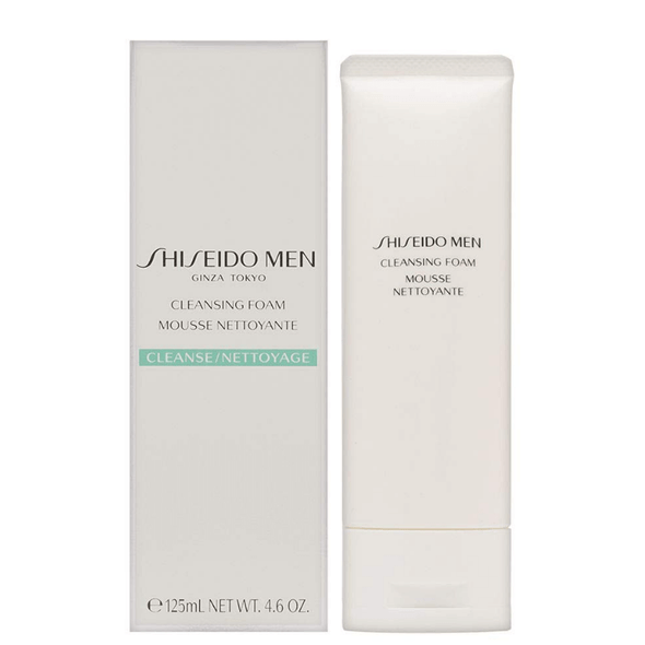Shiseido Men Cleansing Foam - New Formula 125ml
