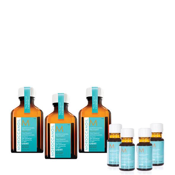 Moroccanoil Light Treatment Oil 25ml - Buy 3 Get 4 x 10mls Free