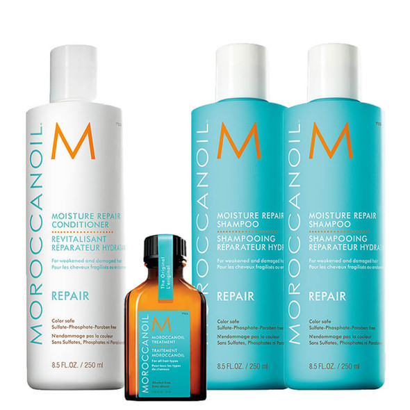 Moroccanoil Repair Bundle - Free 25ml Treatment Oil