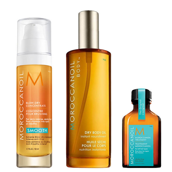 Moroccanoil Blow-Dry Collection - Free 25ml Treatment Oil
