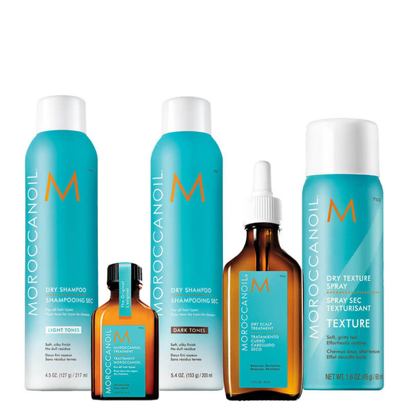 Moroccanoil Dry Shampoo Collection - Free 25ml Treatment Oil