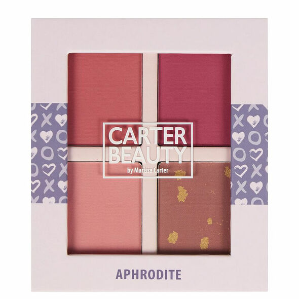 Carter Beauty Aphrodite Mini Palette
