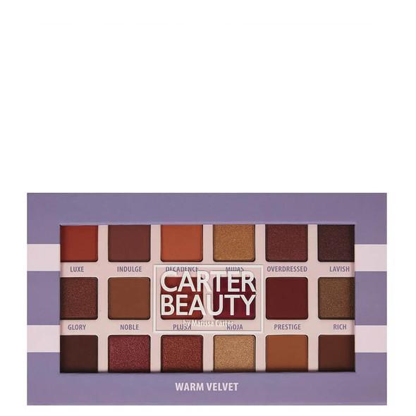 Carter Beauty Warm Velvet 18 Shade Palette