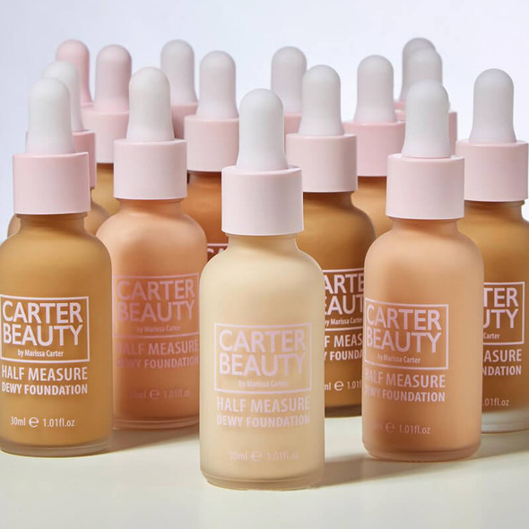 Carter Beauty Half Measure Dewy Foundation products