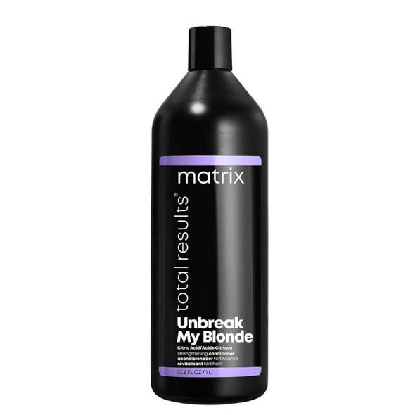 Matrix Unbreak My Blonde Strengthening Conditioner 1000ml