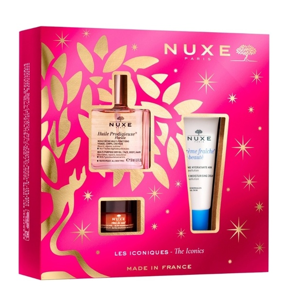 NUXE The Iconics In Pink Gift Set