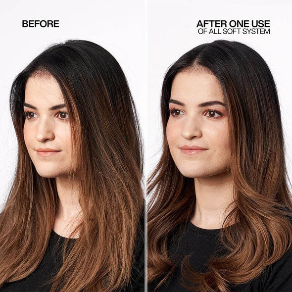 Redken All Soft 500ml Duo - Limited Edition Before&After