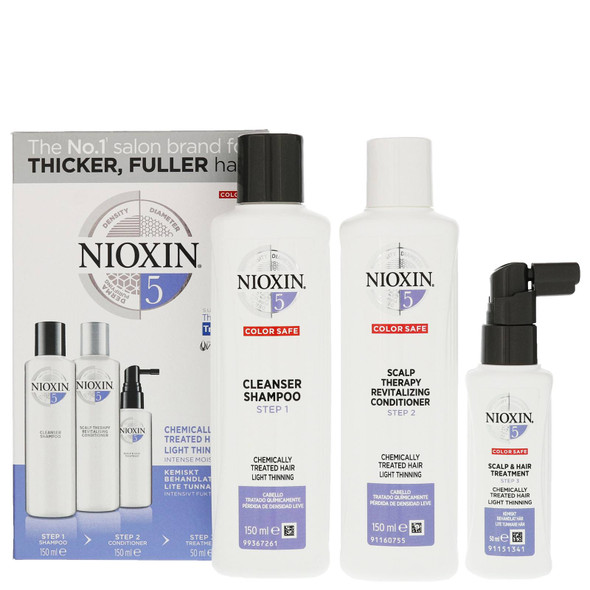 Nioxin -  System Kit 5 (Normal to thin, medium to coarse)