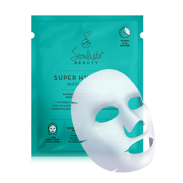 Seoulista Super Hydration Instant Facial white