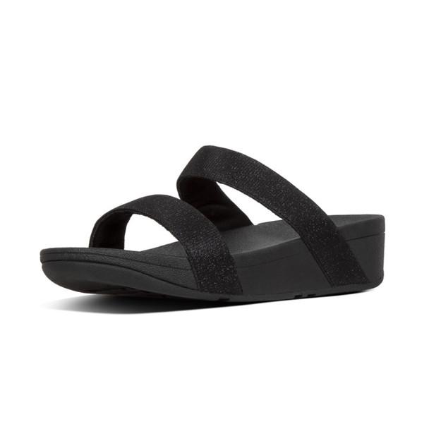 FitFlop™ Lottie Glitz™ Slide Black