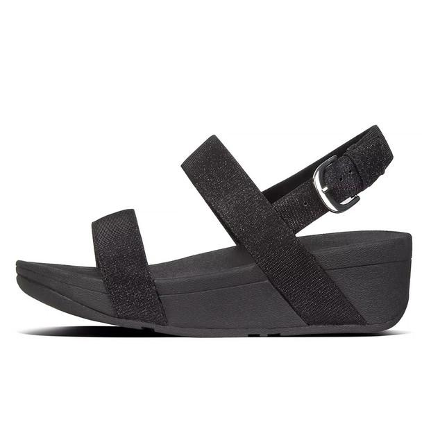 FitFlop™ Lottie Glitz™ Sandal Black side
