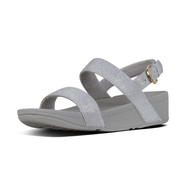 FitFlop™ Lottie Glitz™ Sandal Silver