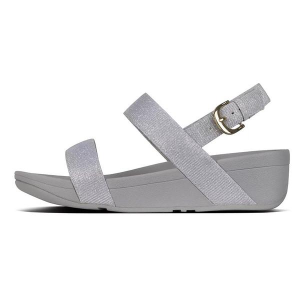 FitFlop™ Lottie Glitz™ Sandal Silver side