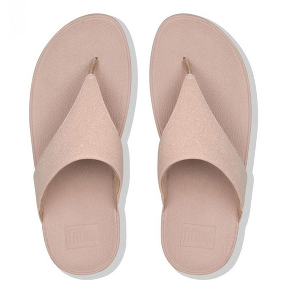 FitFlop™ Lulu Shimmer Rose Gold top