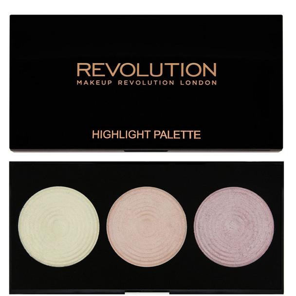 Revolution Highlighter Palette - Highlight black