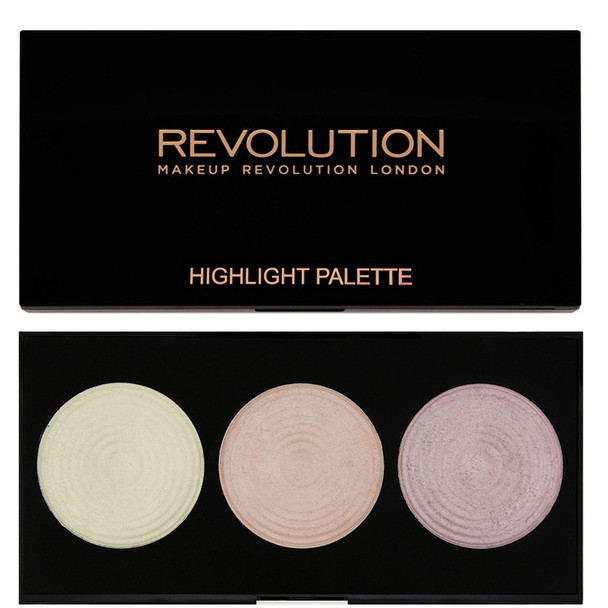 Revolution Highlighter Palette - Highlight black
