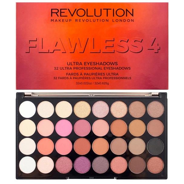 Revolution Ultra Eyeshadow Palette Flawless 4 open