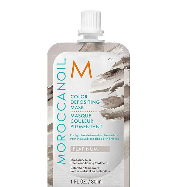 Moroccanoil Color Depositing Mask - Platinum 30ml