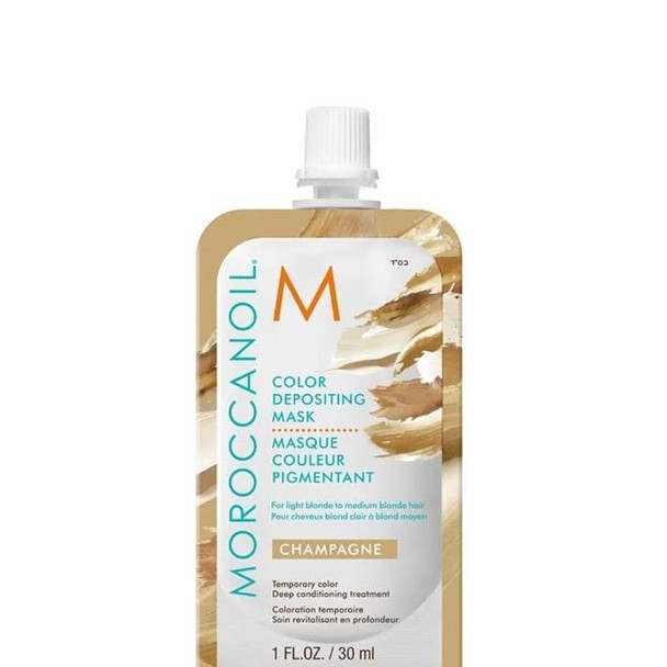 Moroccanoil Color Depositing Mask - Champagne 30 ml