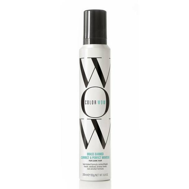Color Wow Brass Banned Mousse Dark 200ml