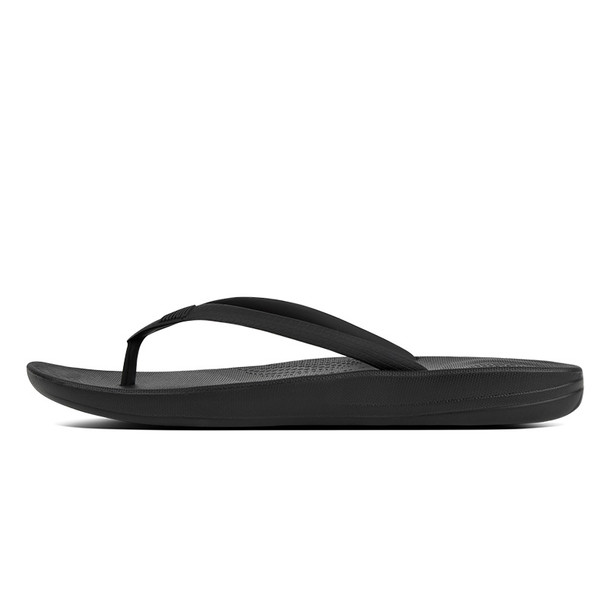 FitFlop iQushion Ergonomic Sandals All Black side