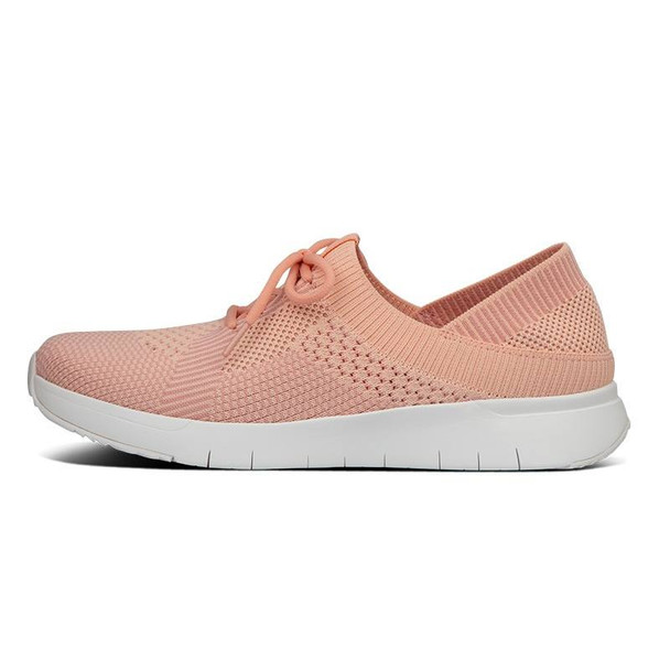 FitFlop Marbleknit Sneakers Coral side
