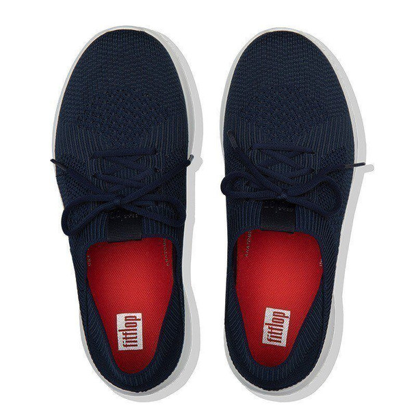 FitFlop Marbleknit Sneakers Navy top