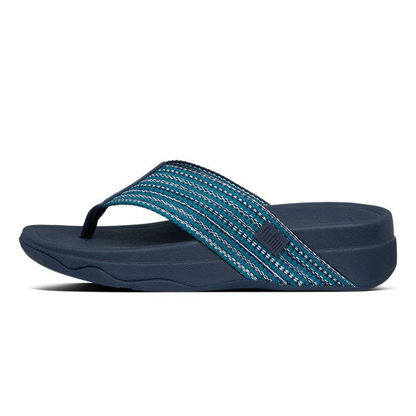 FitFlop Surfa Toe-Post Sea Blue side