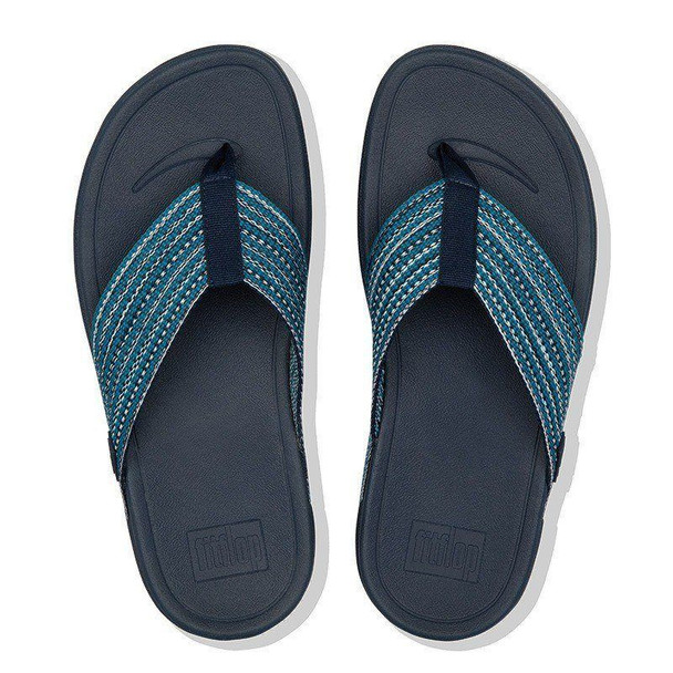 FitFlop Surfa Toe-Post Sea Blue Top