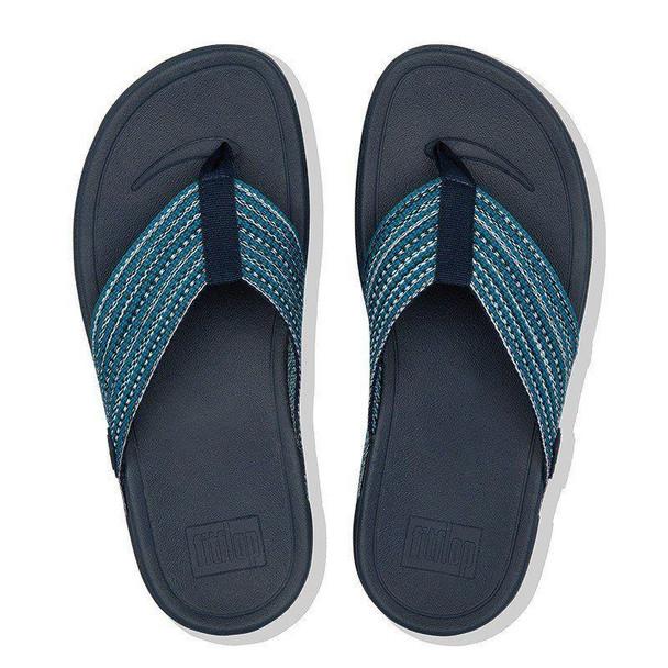 FitFlop Surfa Toe-Post Sea Blue Top