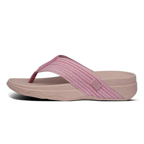 FitFlop Surfa Toe-Post Soft Pink side
