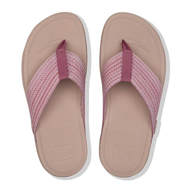 FitFlop Surfa Toe-Post Soft Pink top