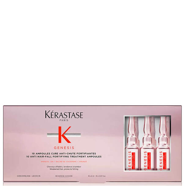 - Kerastase Genesis Ampoules Cure Anti-Chute Fortifiantes 10*6ml