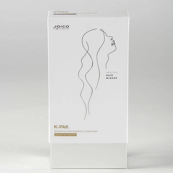 Joico K-Pak Shampoo and Intense Hydration Treatment Gift Set  box