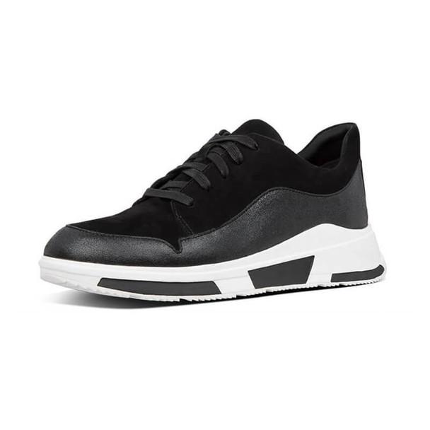 FitFlop Freya Suede Sneaker Black