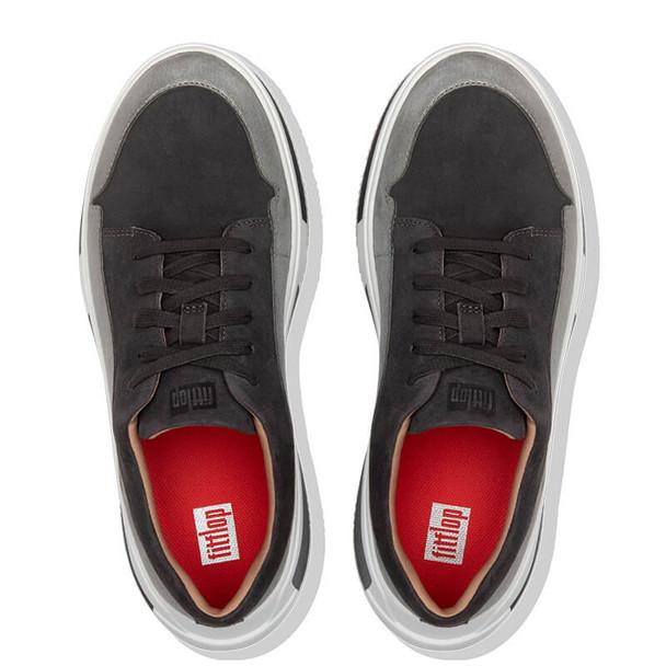 FitFlop Freya Suede Sneakers Grey Top