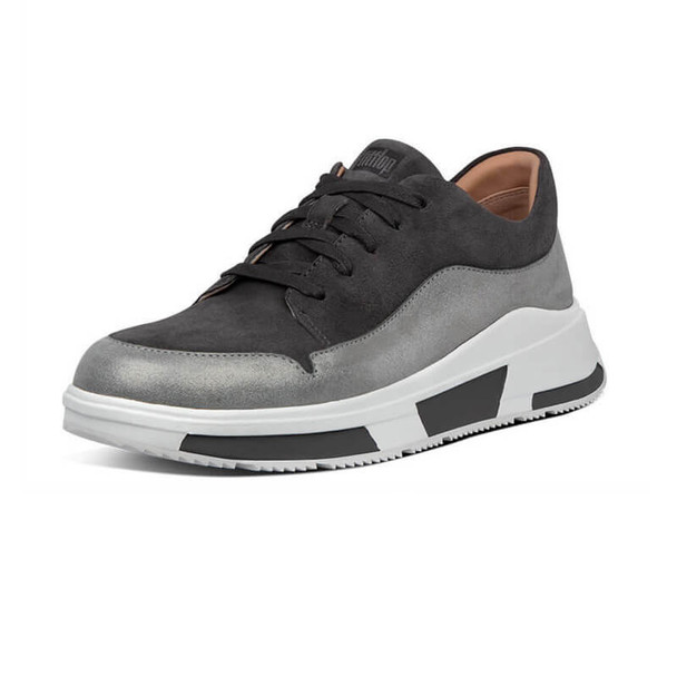 FitFlop Freya Suede Sneakers Grey