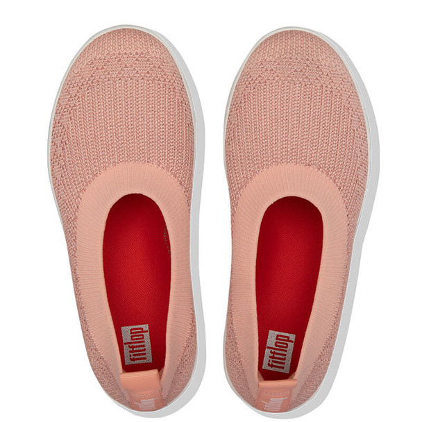 FitFlop Marble Knit Ballerina Coral Top