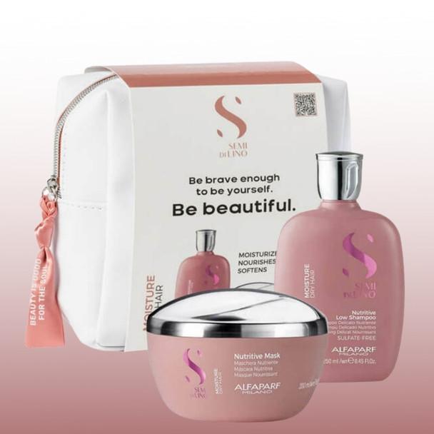 Alfaparf Semi Di Lino - Moisture Gift Set - Limited Edition Special