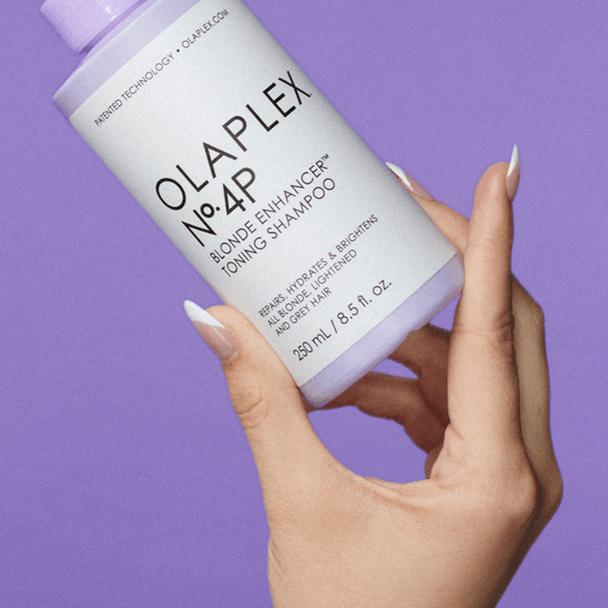 Olaplex No.4P Blonde Enhancer Toning Shampoo 250ml Social 2