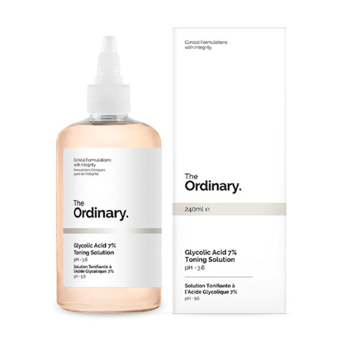 The Ordinary - Glycolic Acid 7% Toning Solution - 240ml