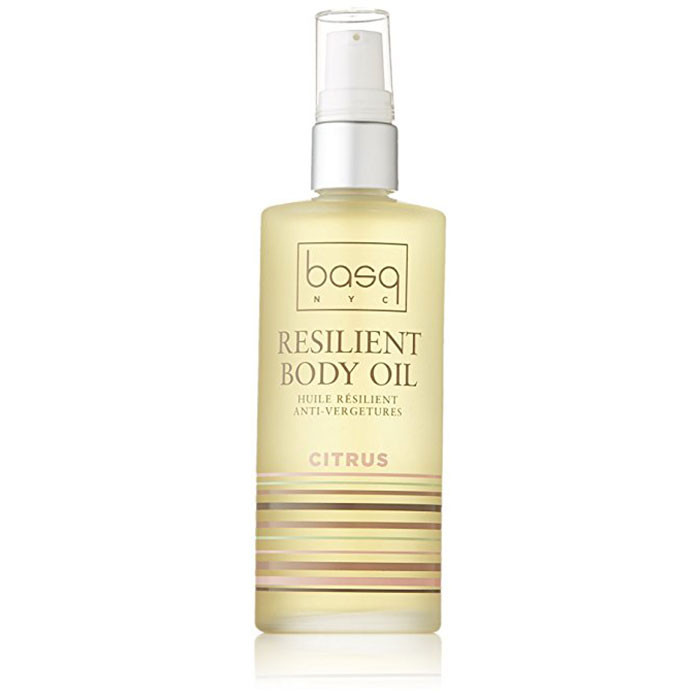 Basq Resilient Body Stretch Mark Oil - Citrus