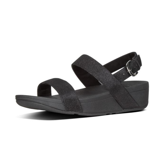 FitFlop™ Lottie Glitz™ Sandal Black