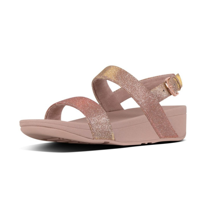 FitFlop™ Lottie Glitz™ Sandal Rose Gold