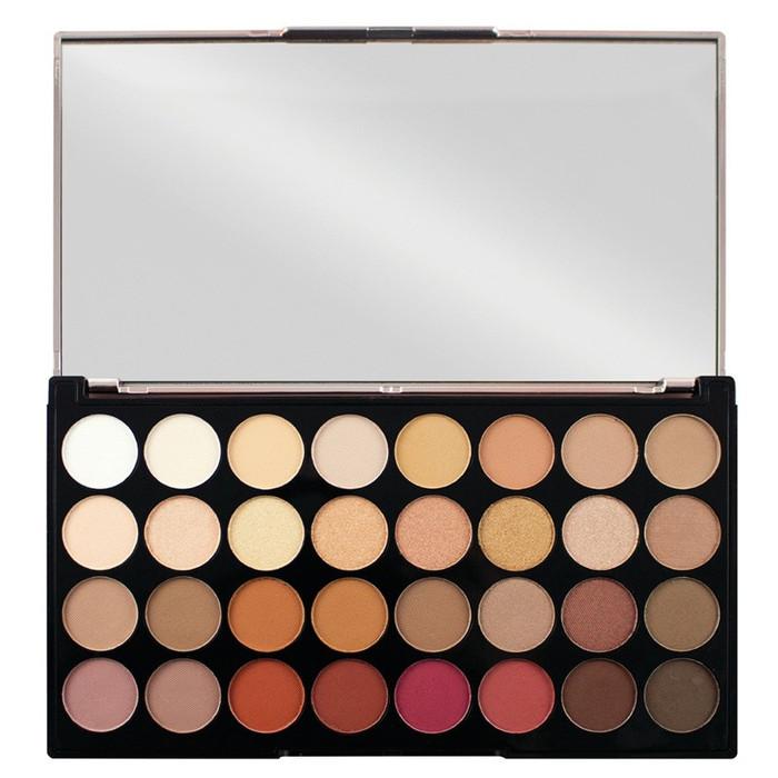 Revolution Ultra 32 Eyeshadow Palette Flawless 3 Resurrection open